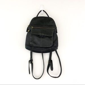 Vintage Fossil Mini Backpack